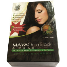 Iklan Maya Onyx Herbal Hair Colouring Black 5 Sachet