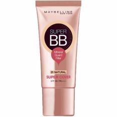 Promo Maybelline Bb Cream Super Cover 01 Natural Maybelline Terbaru