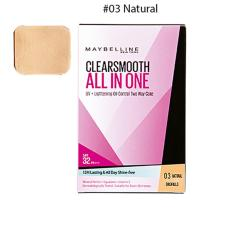 Maybelline Clear Smooth All in One Two Way Cake - REFILL - Natural 03