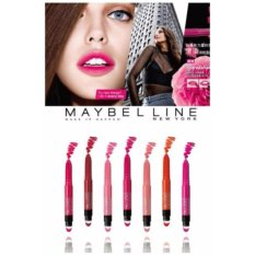 Review Maybelline Color Sensational Lip Gradation Lipstick Matte Ombre Fuchsia Terbaru