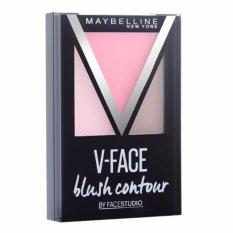 Maybelline Face Studio V Face Blush Contour Blush On - Pink
