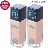 Spek Maybelline Fit Me Matte Poreless Liquid Foundation 220 Natural Beige