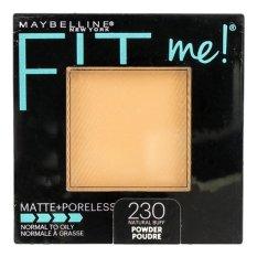 MAYBELLINE FIT ME MATTE+PORELESS POWDER NATURAL BUFF
