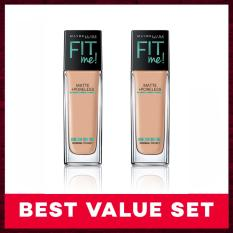 Harga Maybelline Fit Me Natural Beige Bundle Asli Maybelline
