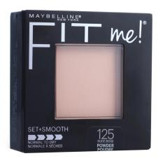 Harga Maybelline Fit Me Set Smooth Powder 125 N*d* Beige Exp 2019 Maybelline Original