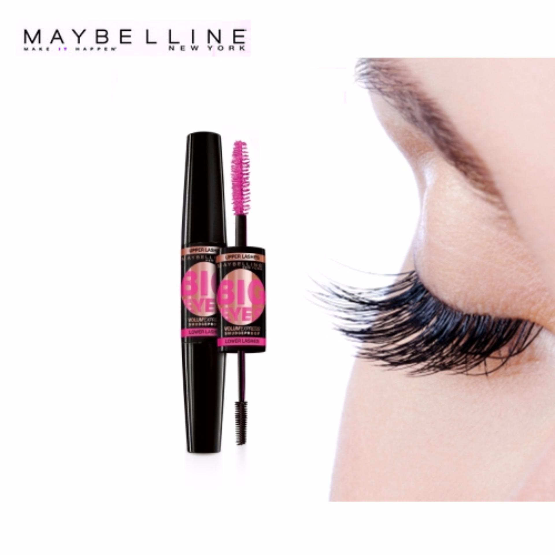 Penawaran Maybelline Volum Express Turbo Mascara Volume Black Facial Magnum 100 Ori Bpom Asri Big Eyes Hitam