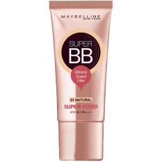 Spesifikasi Maybelline Super Cover Bb Cream 30Ml 01 Natural Dan Harga