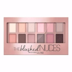 Spesifikasi Maybelline The Blushed N*d*s Eye Shadow Palette Pink Baru