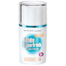 Spesifikasi Maybelline White Superfresh Liquid Powder Ivory Maybelline