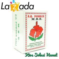 MBK Powder Kemasan Putih - Bedak Anti Bau Badan & Keringat - 1 Box isi 12 Sachet