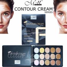 Spesifikasi Me Now 15 Color Face Contouring Cream Contour Concealer Cream Baru