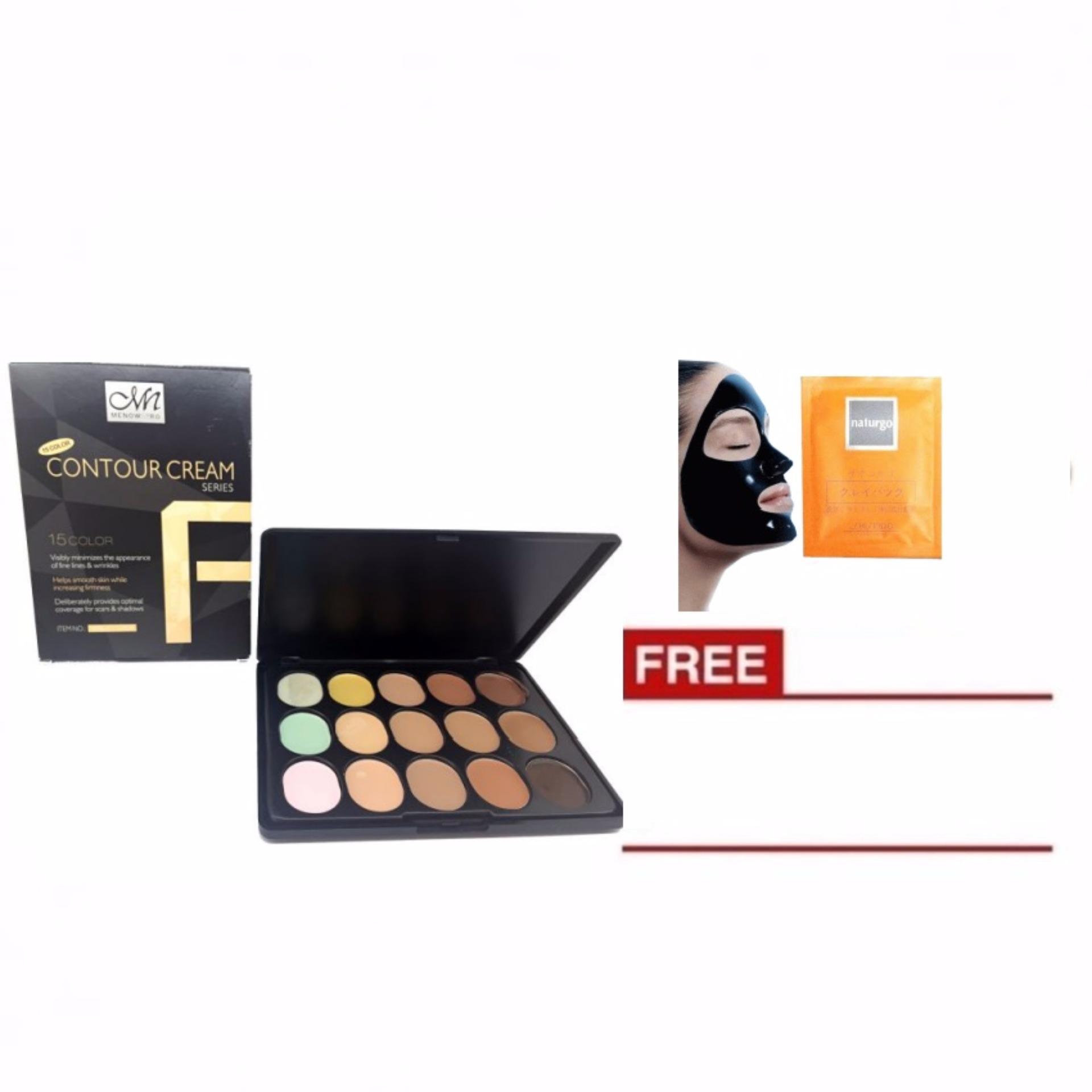 Mn Contour Cream Series 15 Colors Camouflage Concealer Palette Dan Pensil Alis Viva Original Me Now Color Pro Foundation Free Naturgo 1 Sachet