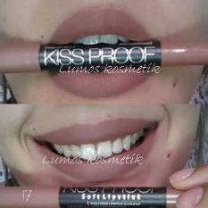 Me Now Kiss Proof Longlasting Soft Matte Creamy Lipstick (No. 17 Terpopuler) -