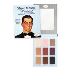 Meet Matte Trimony The Balm Eyeshadow Palette