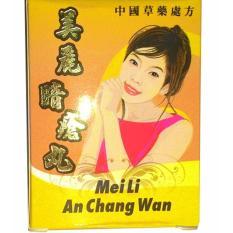 Spesifikasi Meili An Chang Wan Obat Jerawat Herbal Alami Original Murah Berkualitas