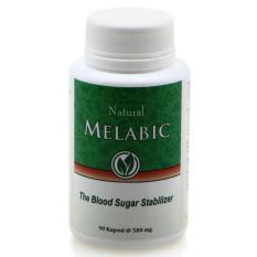 Dimana Beli Melabic Obat Herbal Untuk Diabetes Menstabilkan Kadar Gula Darah 90 Kapsul Melabic