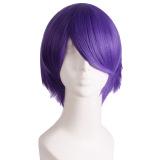 Jual Pria Pendek Lurus Wig Cosplay Pesta Deep Purple Oem