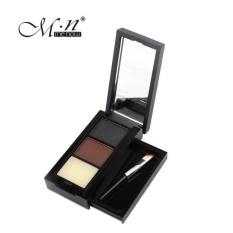Menow Palet Makeup Bedak Shading + Kuas dan Kaca