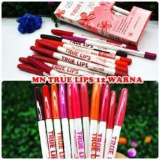 Menow True Lips Matte Lip Liner - Me Now True Lips Per Lusin (LUSINAN)