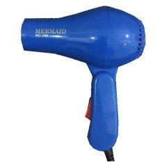 Mermaid Hair Dryer Mini Lipat Hairdryer Travelling - Biru