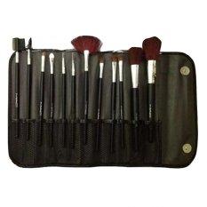 Mesh Kuas Make Up Brush 12 Pcs Dompet