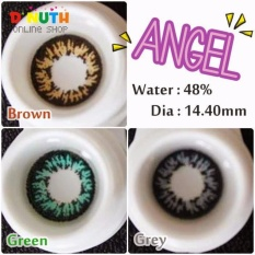 Mesh Normal Softlense By Living Color Adore Angel - Soft Lens Lensa Kontak FREE Tempat Softlense - BLACK