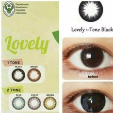 Mesh Normal Softlense By Living Color Adore Angel - Soft Lens Lensa Kontak FREE Tempat Softlense - VIOLET