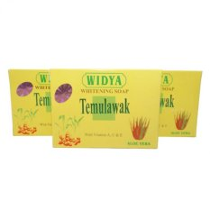 Mesh - Sabun Temulawak WIDYA 3 pcs