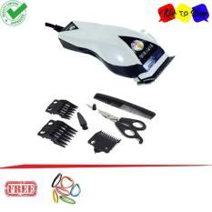 Mesin Alat cukur rambut listrik terbaik happy king HK-900 - potong pangkas clipper + Ikat Rambut Klik to Buy - 1 Pcs