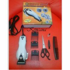 Mesin Alat cukur rambut listrik terbaik happy king HK-900 - potong pangkas clipper