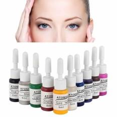 Daftar Harga Microblading Semi Permanent Makeup Eyebrow Eyeliner Tattoo Pigment Ink Intl Oobest