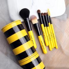 Mimosifolia Alis Kecantikan And Bulu Mata eyeliner Eye Shadow Makeup Brush Blush On Makeup Brush Tool 7 Pcs