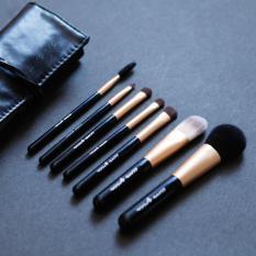 Mimosifolia Alis kecantikan dan bulu mata eyeliner eye shadow makeup brush blush on makeup brush tool 7 PCS