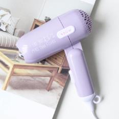 Mini Folding Hairdryer Fancy design by Must Have-Japan -Ungu