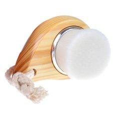 Toko Mini Portable F*C**L Serat Pembersih Mengelupas Cleansing Pegangan Kayu Sikat Bentuk Koma Wajah Perawatan Kulit Deep Cleansing Pore Cleaner Tool Intl Online Terpercaya