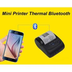Mini Printer Thermal Bluetooth bisa hp android ios print kasir
