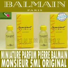 MINIATURE PARFUM PIERRE BALMAIN MONSIEUR EDT FOR MEN 5ML ORIGINAL