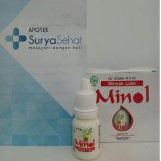 MINOL (6 Botol@ 5 ml) Minyak Luka Tidak Perih biasanya untuk anak-anak