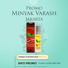 Minyak Angin Herbal Varash Care Hot 8ml