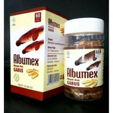 Minyak Ikan Gabus Albumex 60 Kapsul Minyak Ikan Diskon