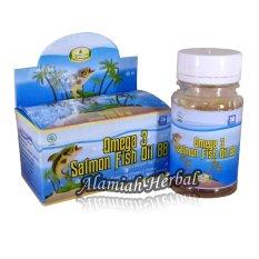 Minyak Ikan Omega 3 Salmon Fish Oil 88 An Nawa