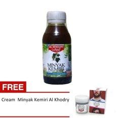 Minyak Kemiri Al Khodry - Penumbuh Rambut + Free Cream Minyak Kemiri Al Khodry