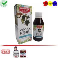 Minyak Kemirimi Al Khodry - Penumbuh Rambut + Free Cream Minyak Kemiri Al Khodry