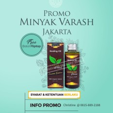 Beli Minyak Kesehatan Herbal Varash Healing Oil Classic Limited Edition 100Ml Online Dki Jakarta
