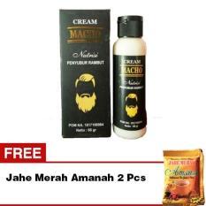 Minyak Obat Shampo Penumbuh Rambut Cream Macho