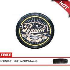 Minyak Rambut Aroma Vanilla TM Pomade Oilbased 60 gram Medium Kuning
