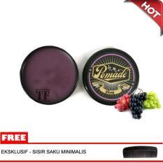 Minyak Rambut Oil Based TM Pomade Aroma Buah Anggur 60 Gram Hard