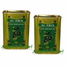 Al Amir kaleng MINYAK ZAITUN EXTRA VIRGIN 175ml - Zaitun Spanyol - Paket 2Pcs