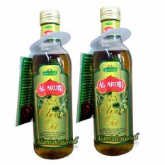 Jual Beli Minyak Zaitun Al Aroby Extra Virgin Olive Oil 325Ml Paket 2Pcs South Sumatra