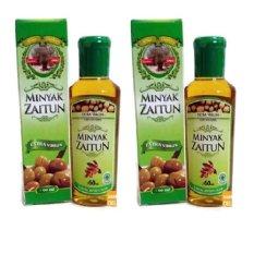 Minyak Zaitun Extra Virgin 60ml 2 Botol - Kemasan Praktis